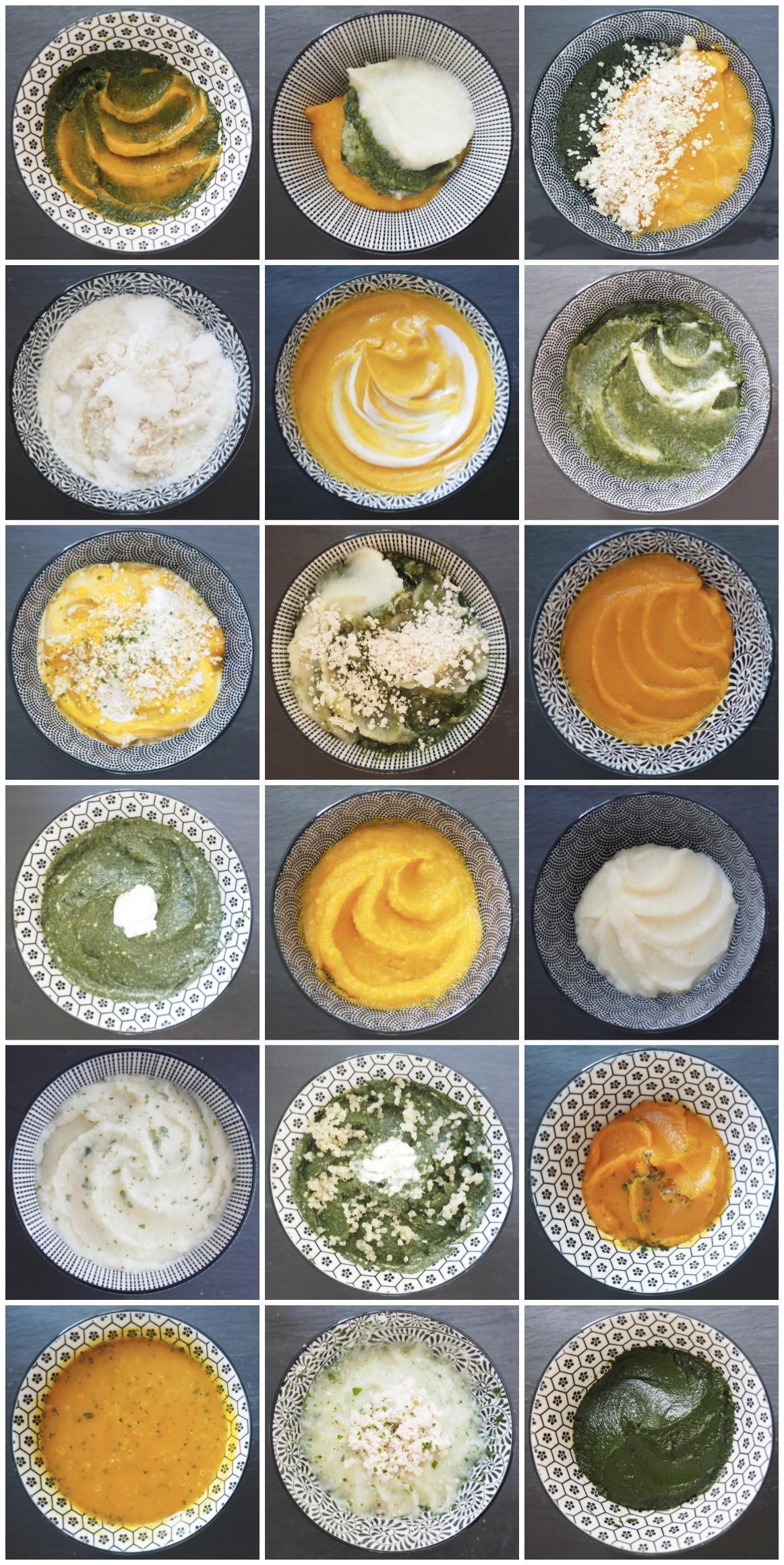 Batch cooking pour bébé spécial légumes d'automne ...