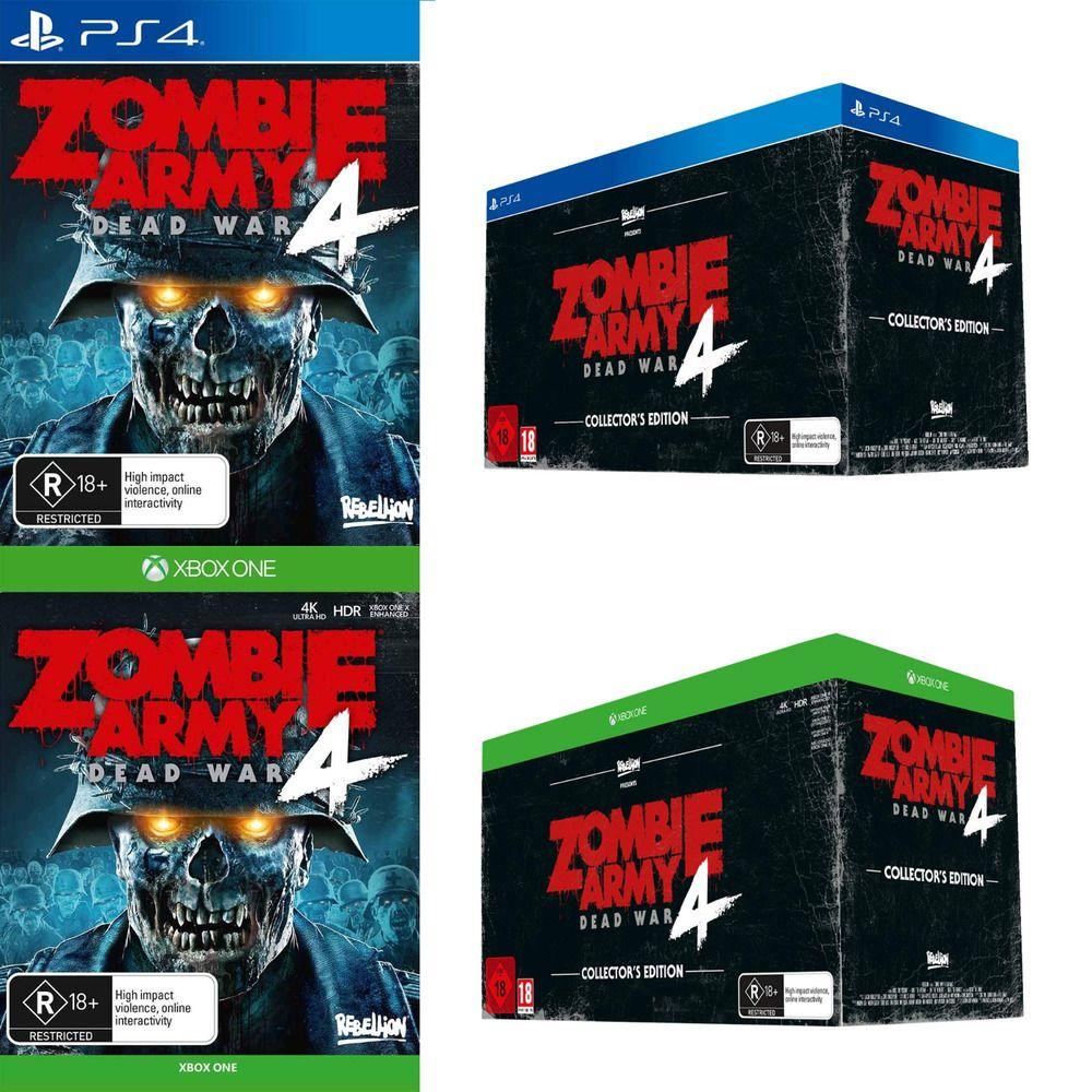 Zombie Army 4 Dead War Sony PS4 Playstation 4 XBOX One XB1