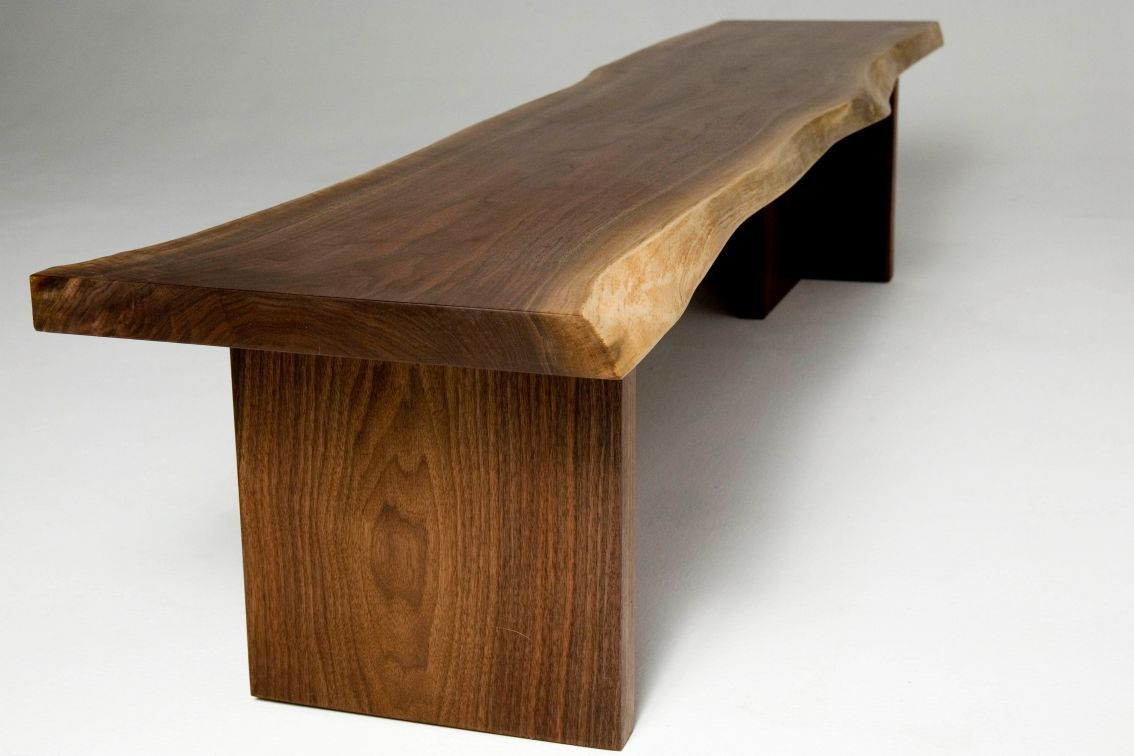 Single Slab Bench Shop Wood Design Furniture And Accessories By Independent Makers Natural Wood Furniture Wood Design Modern Wood Bench