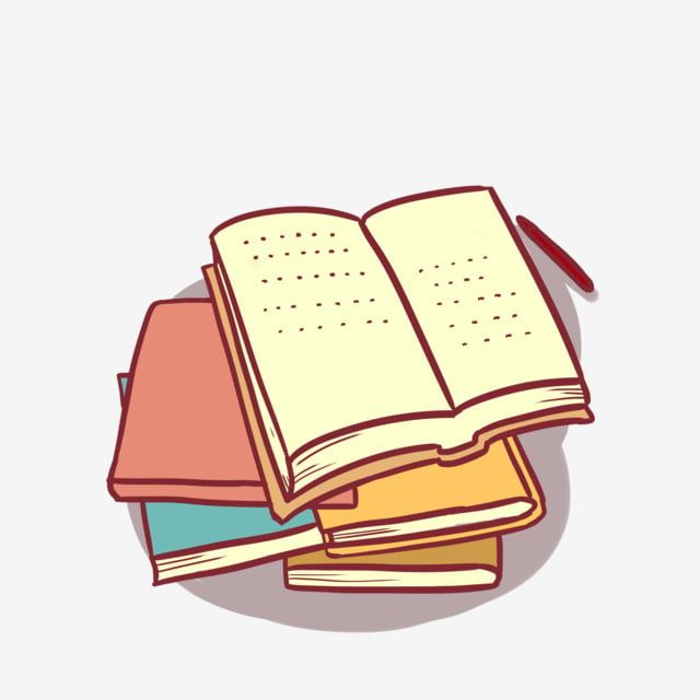 Cartoon Book Notes Stationery Book Educational Supplies Books Png Transparent Clipart Image And Psd File For Free Download Vozeli Com