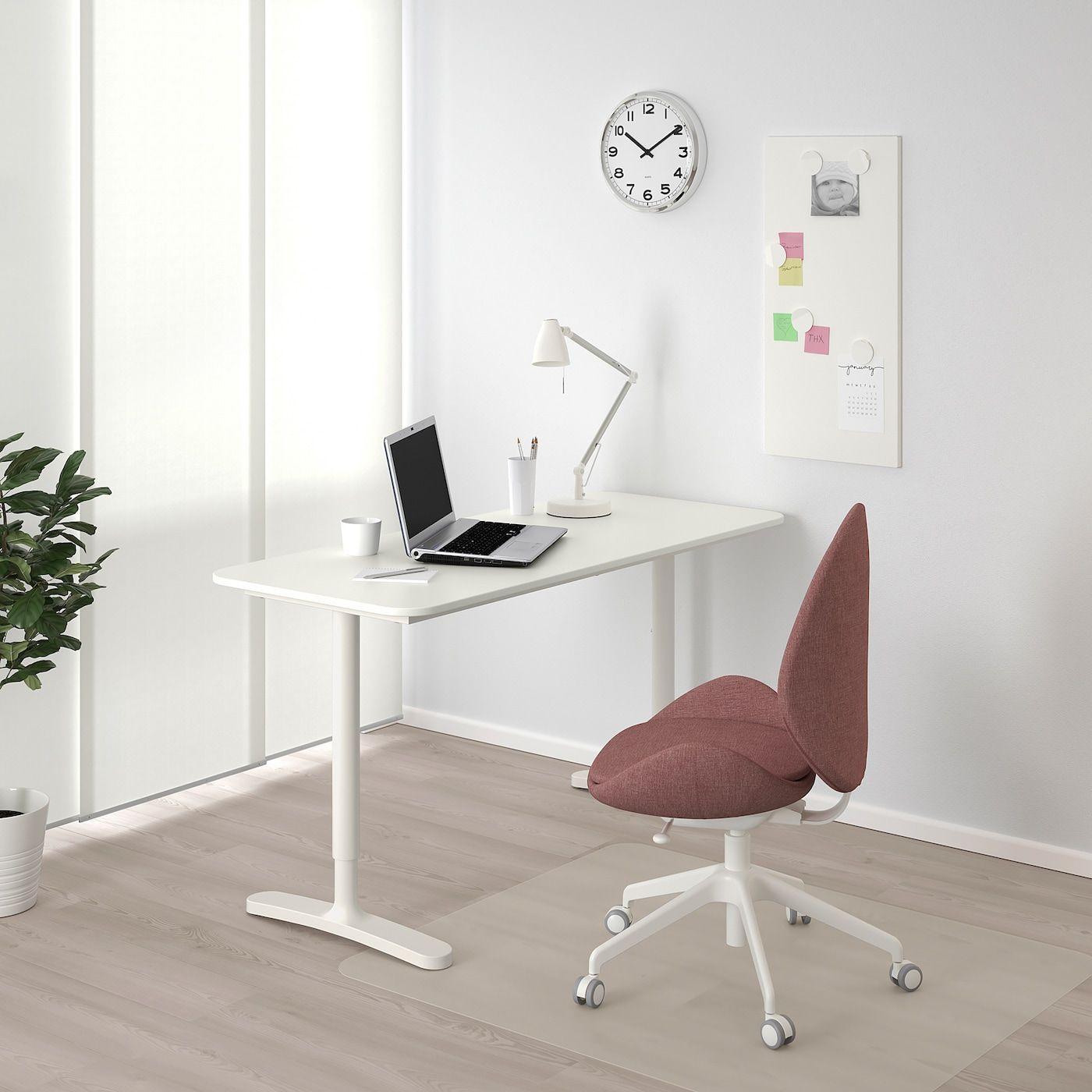 Bekant Bureau Wit 140x60 Cm Ikea Solutions De Rangement Ikea Bureau Angle