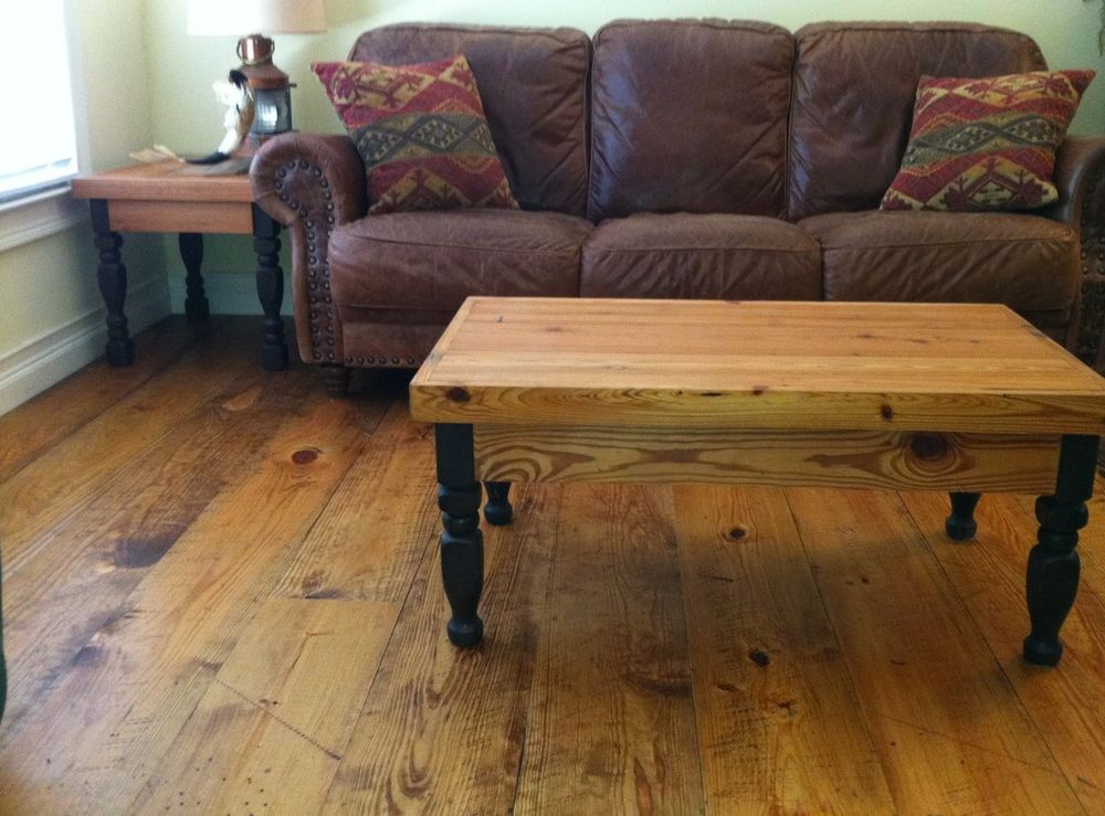 Prefinished Distressed Wide Plank Heart Pine Flooring Available In