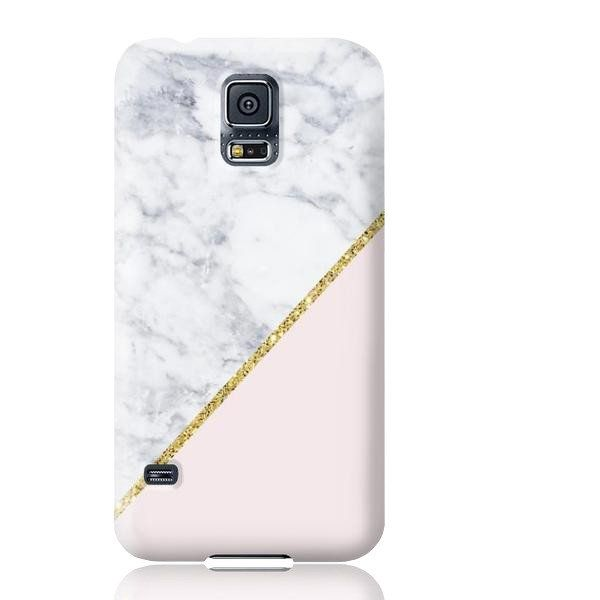 quality design 9c72f c9fa1 Pink Marble Gold Glitter Phone Case - Samsung Galaxy S5 in 2019 ...