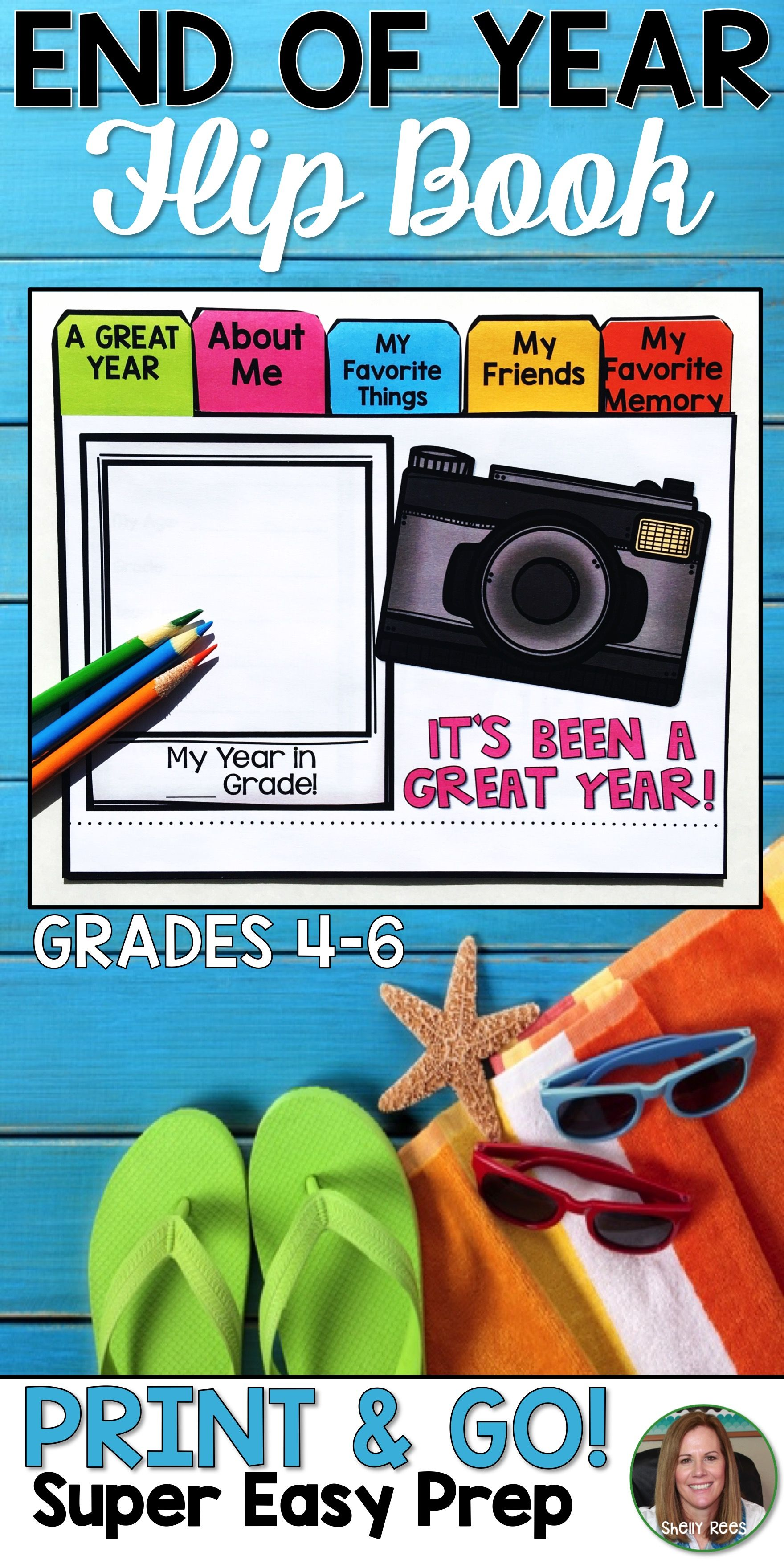 End of the Year Flip Book | Pinterest | Flip books, Worksheets and ...