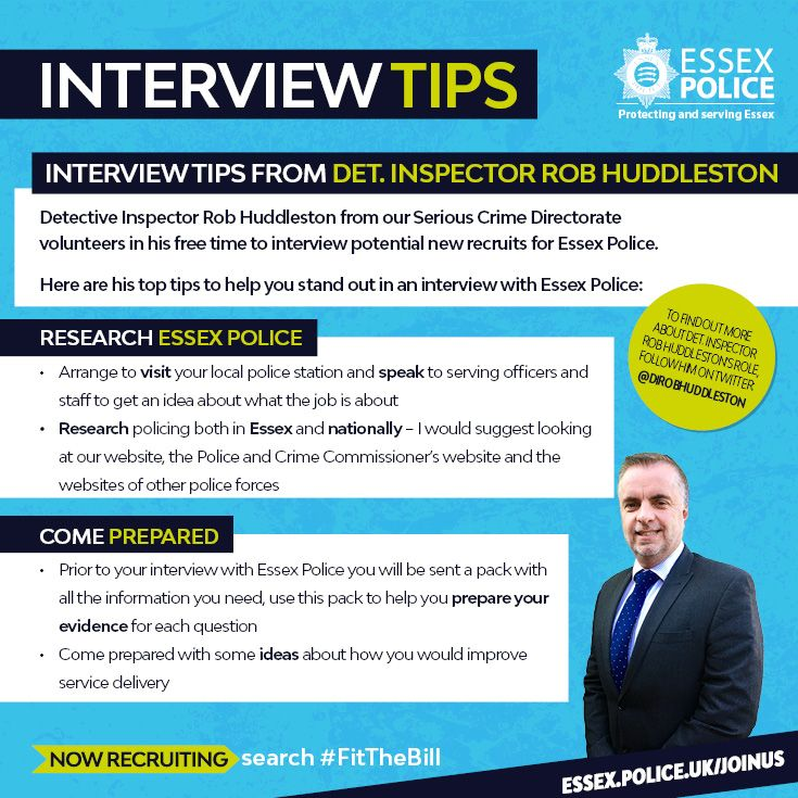 Detective Inspector Rob Huddleston From Our Serious Crime