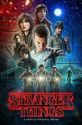 Details about STRANGER THINGS - FULL SIZE POSTER (Size 24x36 inches)