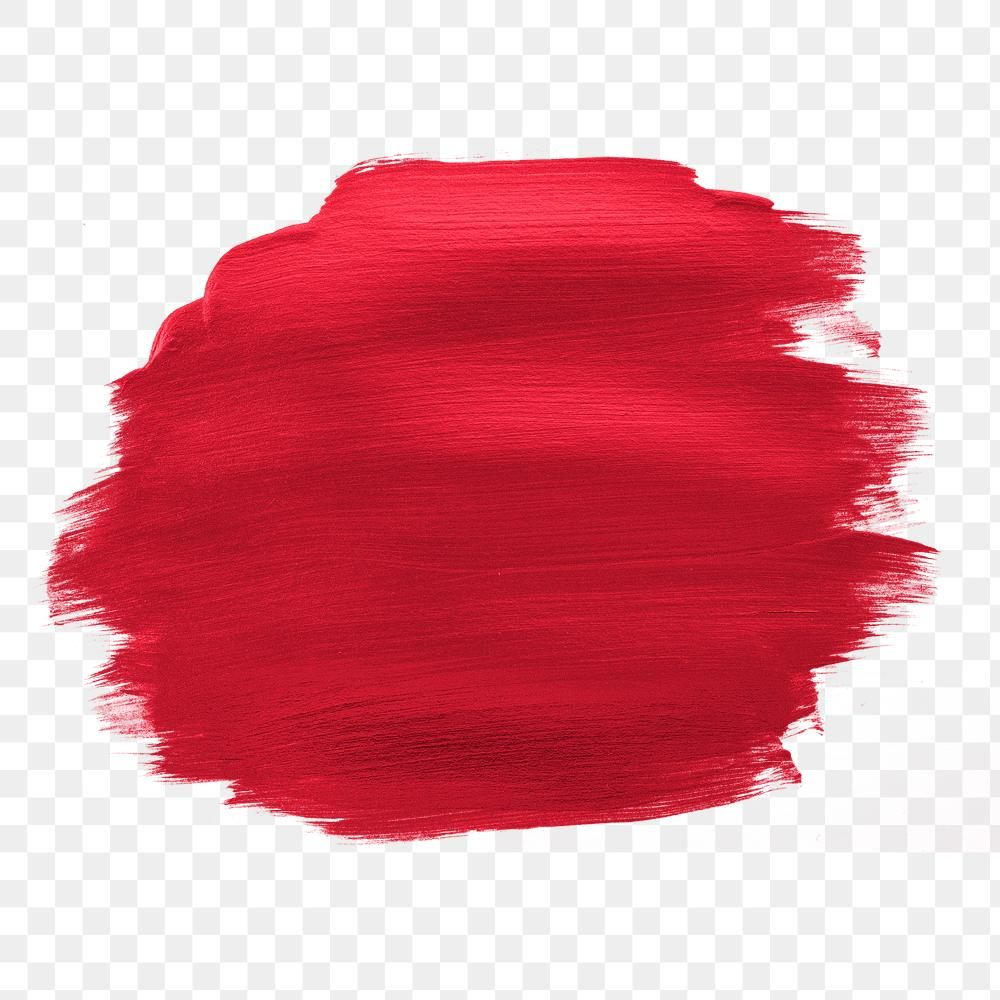 Shimmery Metallic Cherry Red Paint Brush Stroke Free Image By Rawpixel Com Karn Red Paint Pink Paint Brush Strokes