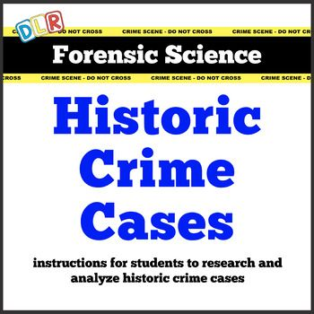 Forensic Science Historic Crime Cases Assignment Forensic Science