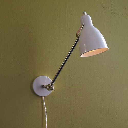 Lighting For Renters 10 Sources For Plug Ins Industrial Sconce Renters Decorating Wall Sconces Living Room