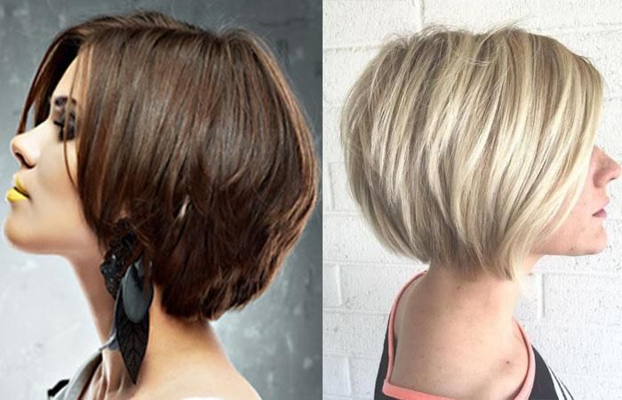 Пикси боб стрижка: фото на короткие, средние волосы ...