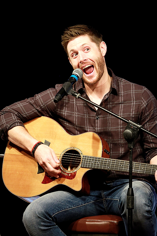 "Jensen singing ""I..."