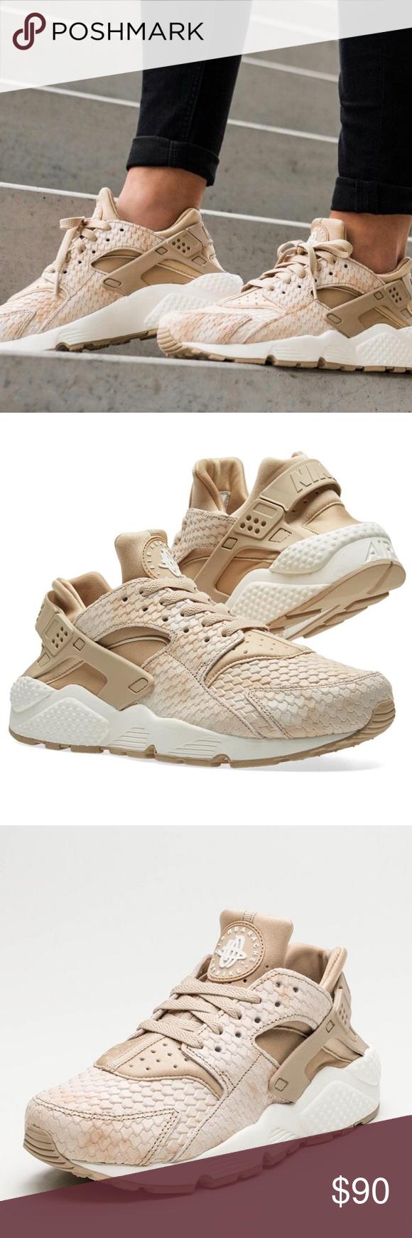4207e8cc25ab WMNS Air Huarache Run PRM WMNS Air Huarache Run PRM. NEW WITHOUT BOX TOP  Linen Linen-Sail Nike Shoes Sneakers