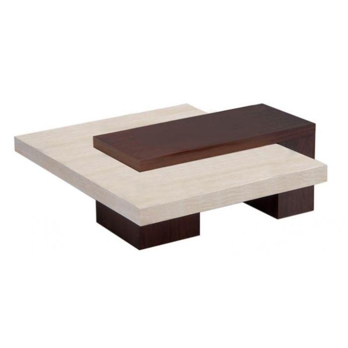 Pienta Stone Top Square Coffee Table (similar To Stone International)