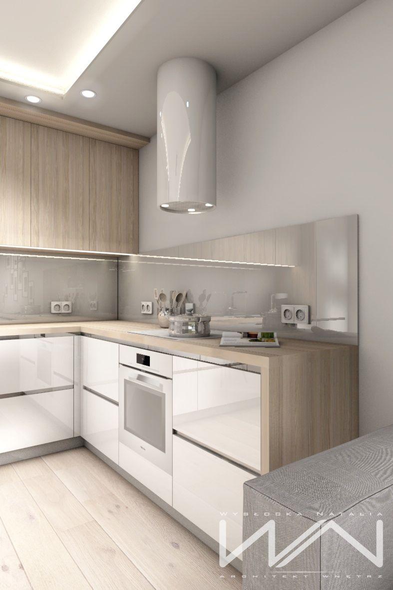 Project 60m2 apartment Gdynia Wiczlino estate Sokolka Zielenisz ...