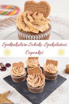 Spektakuläre Schoko-Spekulatius Cupcakes