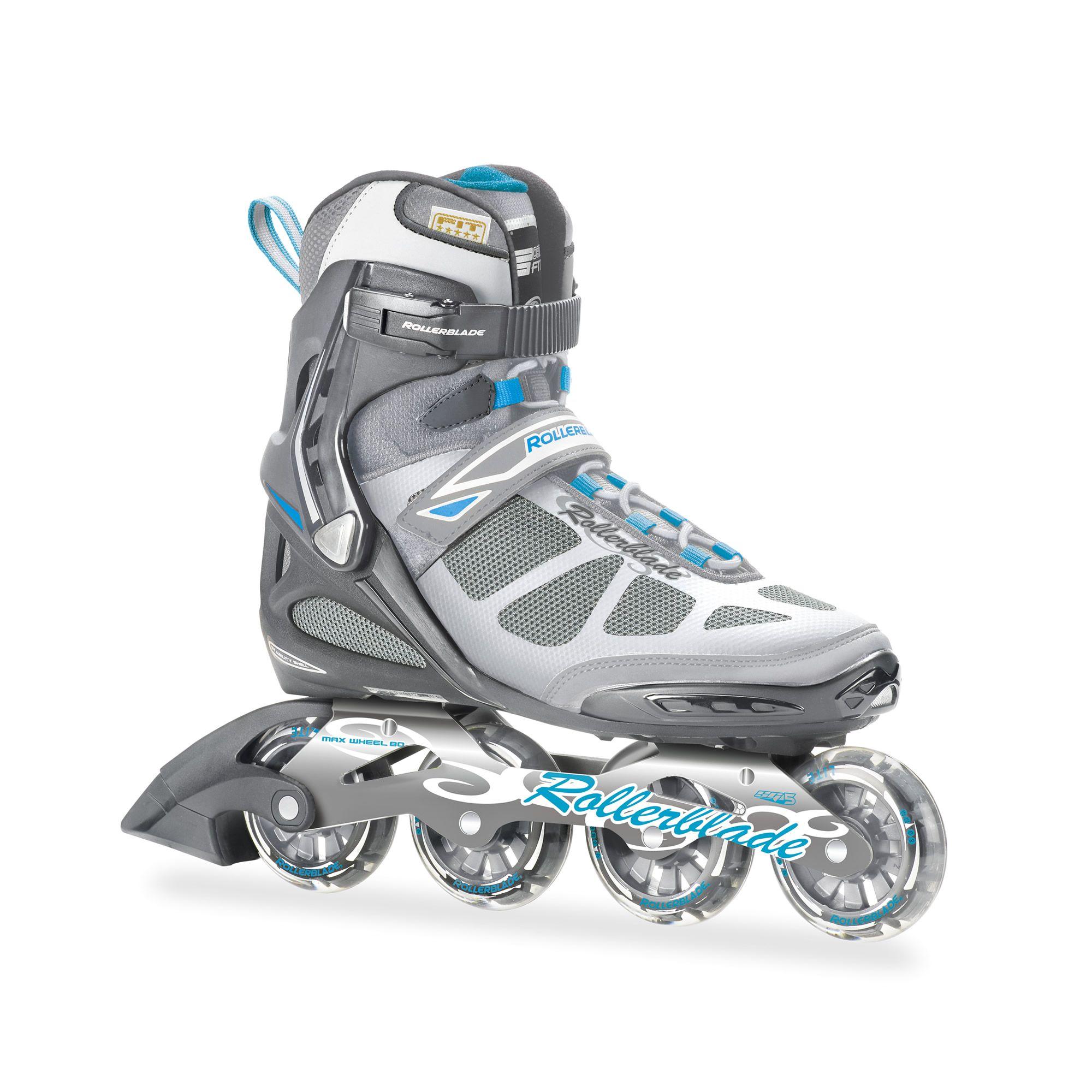 Rollerblade Spark 80 ALU W 2014 Light Blue Retail 349