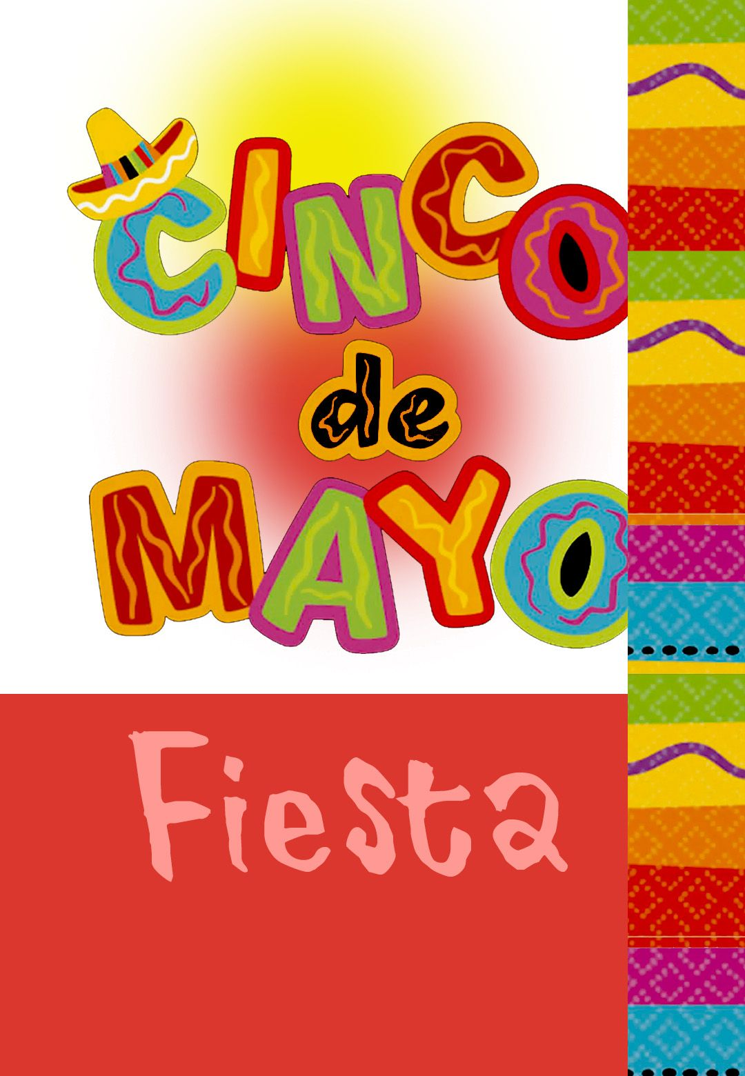 Free Printable Cinco De Mayo Greeting Card