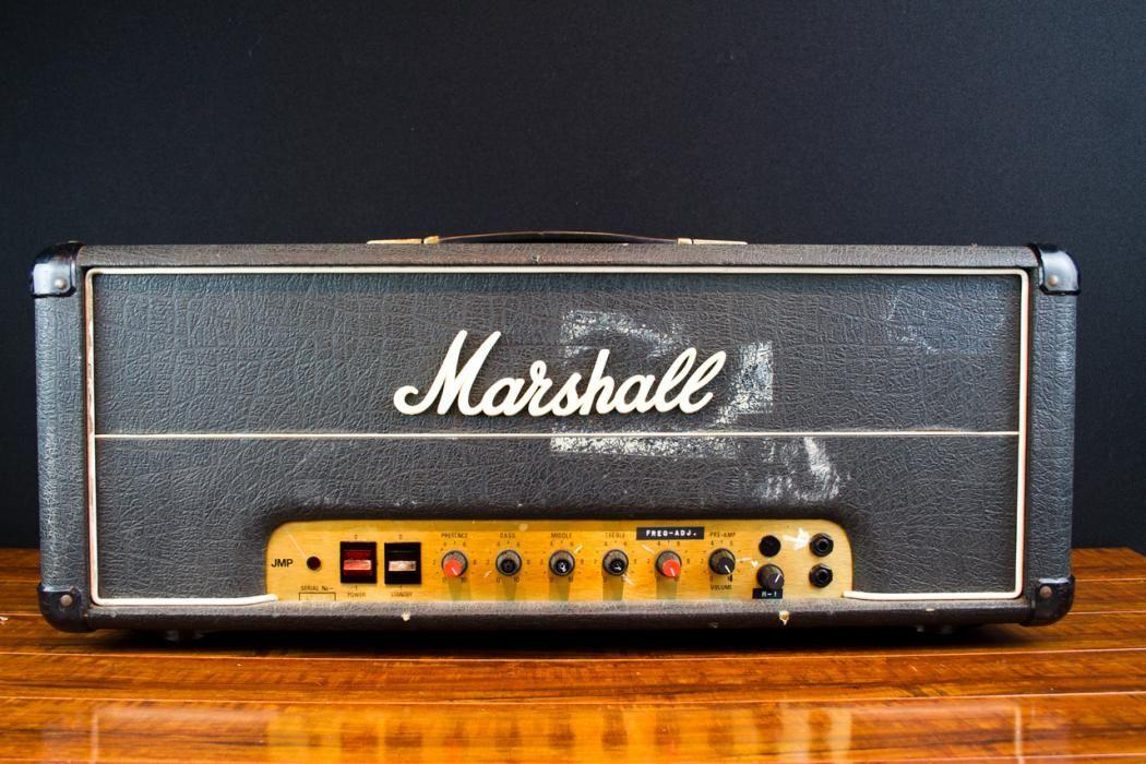 steve vai s marshall 100 watt 4 input jmp plexi used on. Black Bedroom Furniture Sets. Home Design Ideas