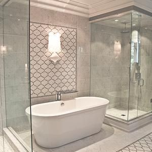 Something About A Freestanding Bath Next To Frameless