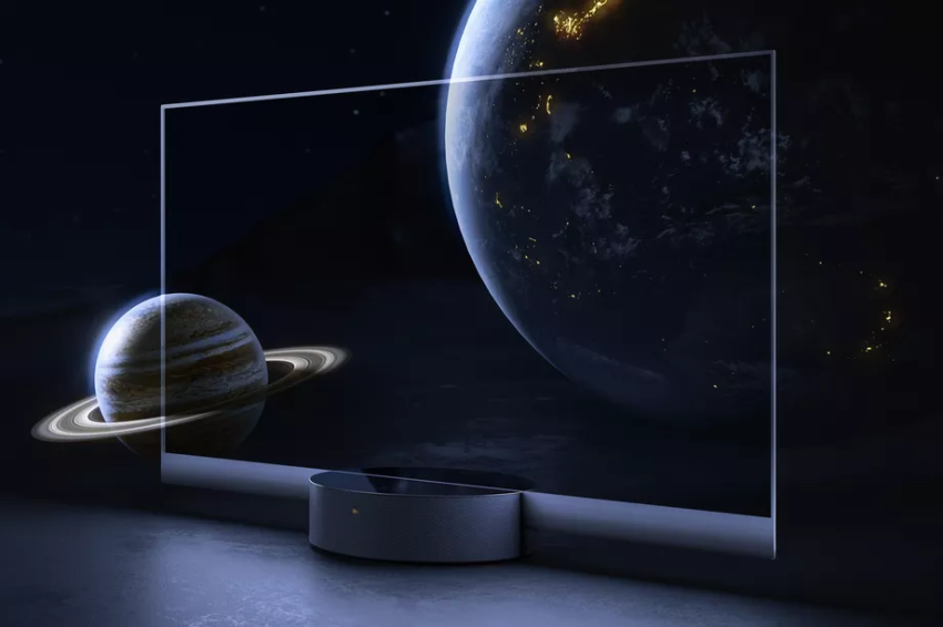 شاومي تعلن عن شاشة تلفزيون شفافة Oled Tv Transparent Tv Oled Light