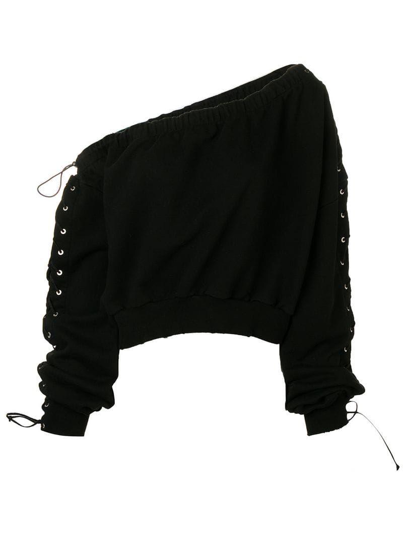 Maglia cropped jumper