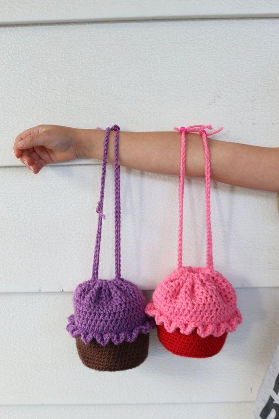 Cupcake Purse, Girls Purse, Cupcake Backpack, Cupcake Bag ...
