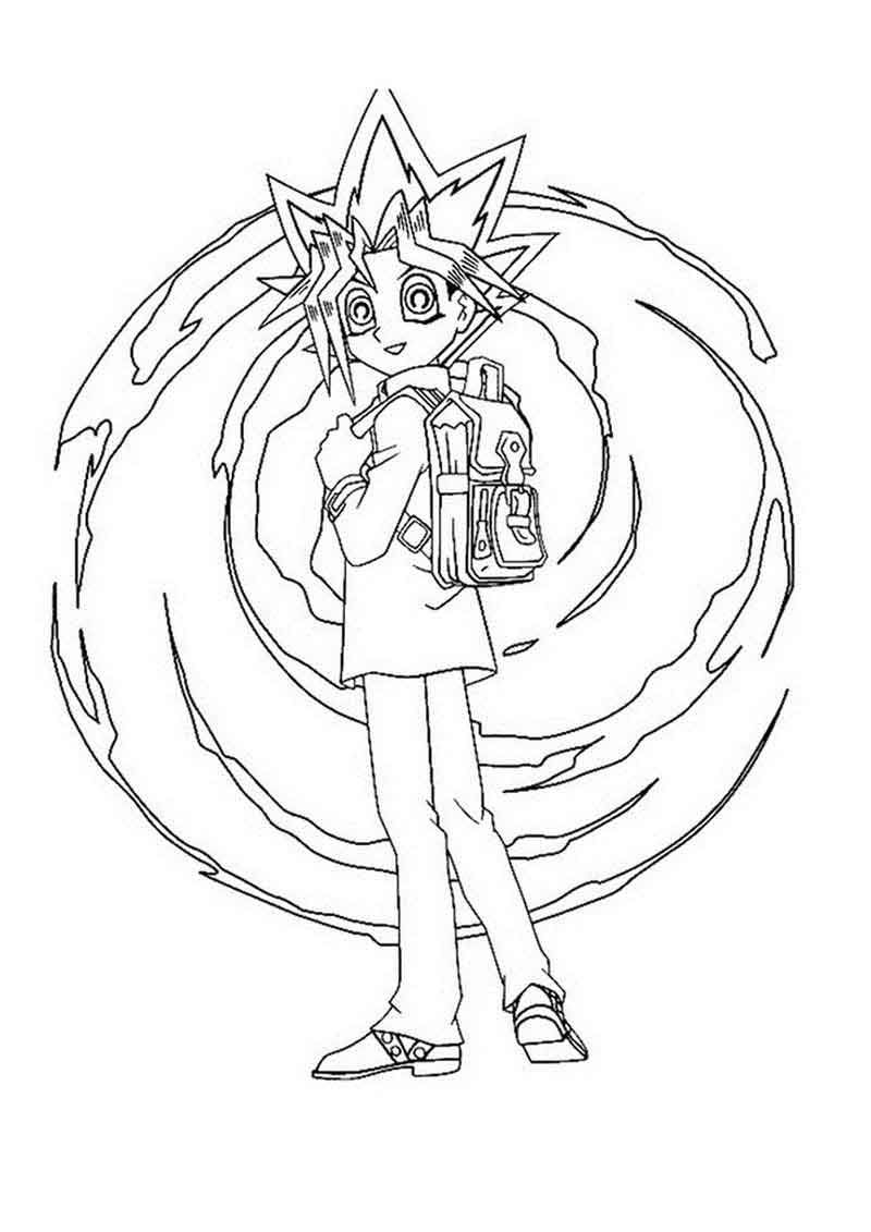 - Yugioh Coloring Page