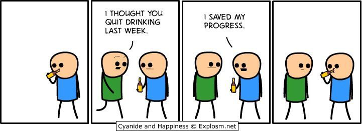 cyanide and happiness drinking