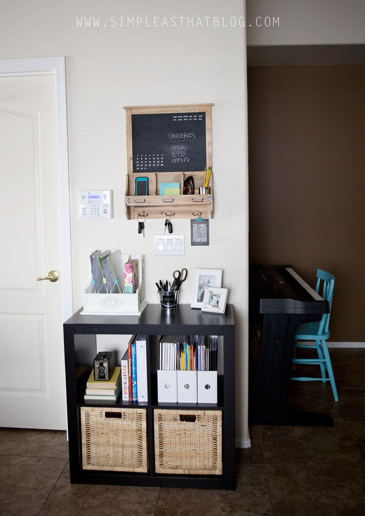 Budget Friendly Family Command Center Organisation