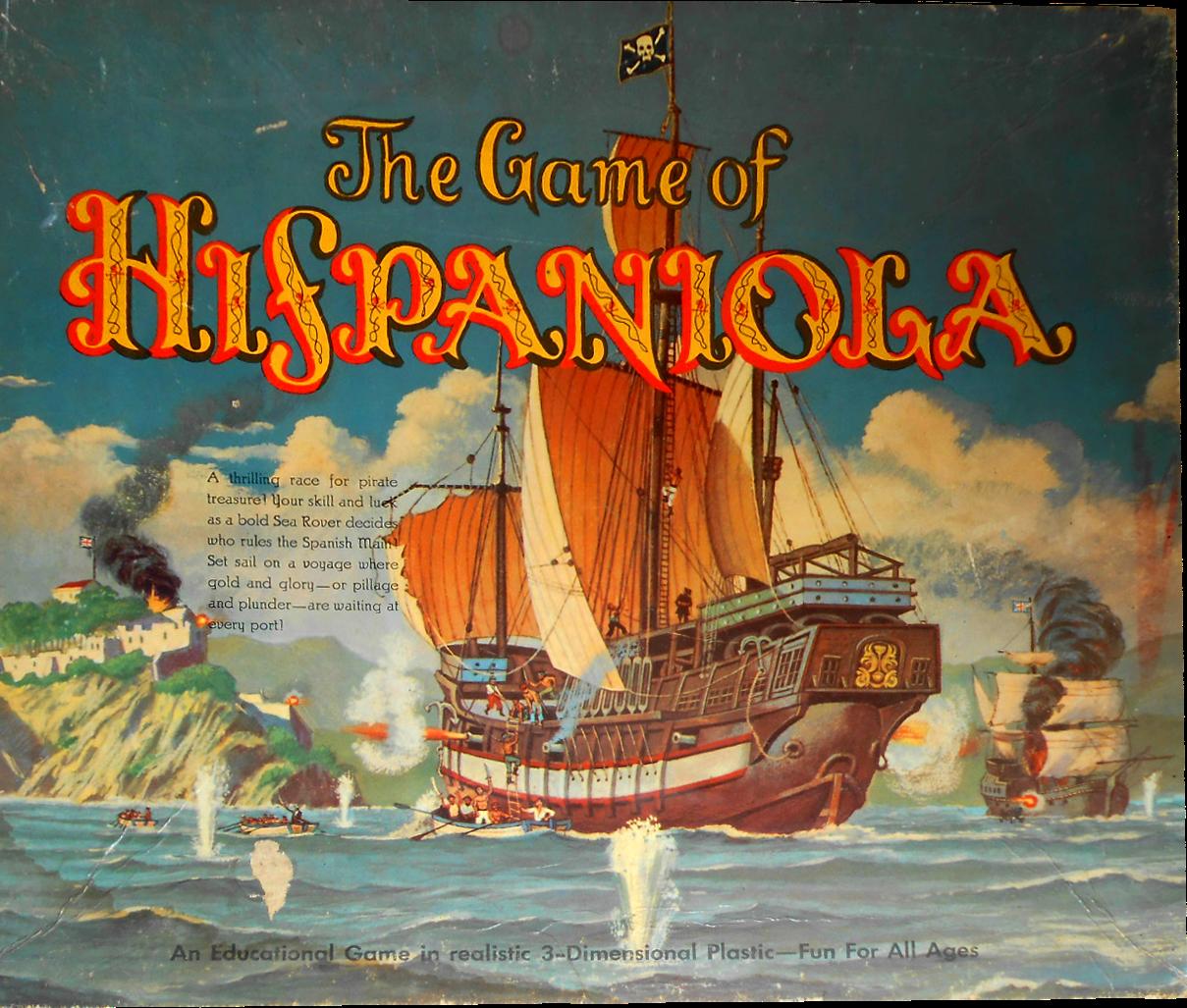 Hispaniola Pirates gold, Spanish galleon, Educational games
