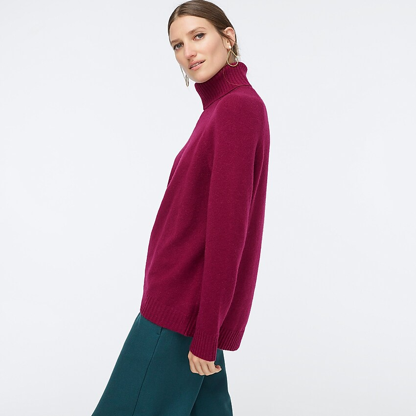 Turtleneck Sweater In Supersoft Yarn For Women | Sweaters