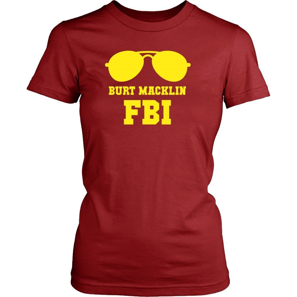 Parks and Recreation T Shirt - Burt Macklin FBI - TV & Movies