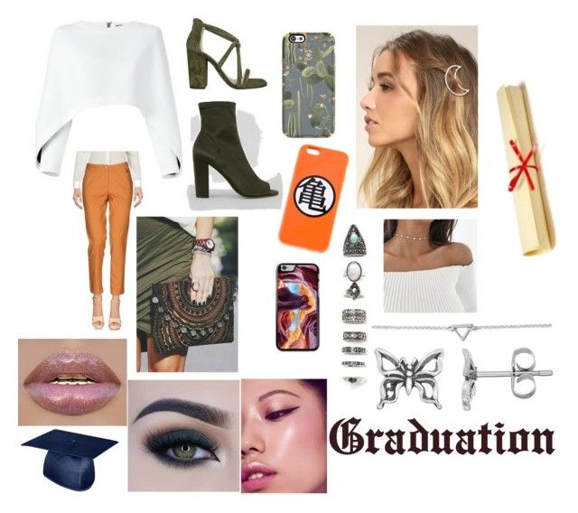 """Graduation"" by lxlxdelxne on Polyvore featuring Balmain, Koralline, Iris, New Look, Speck, LULUS, Nasty Gal, BillyTheTree, Journee Collection and Too Faced Cosmetics"