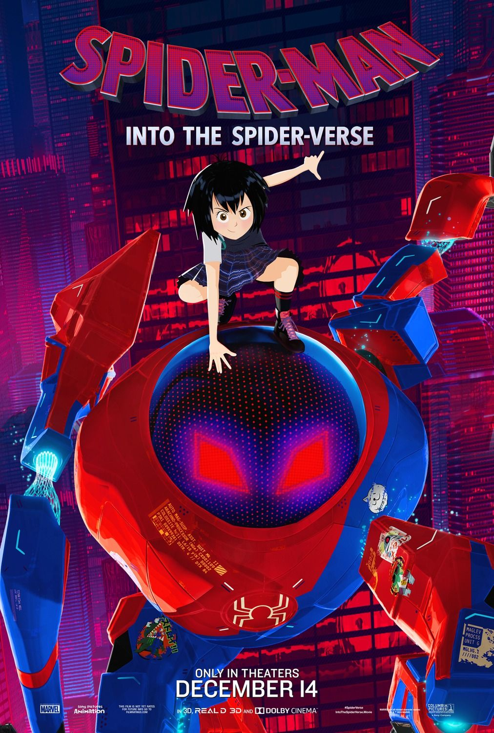 Spider-Man Into The Spider-Verse - Peni Parker  Movies -1677