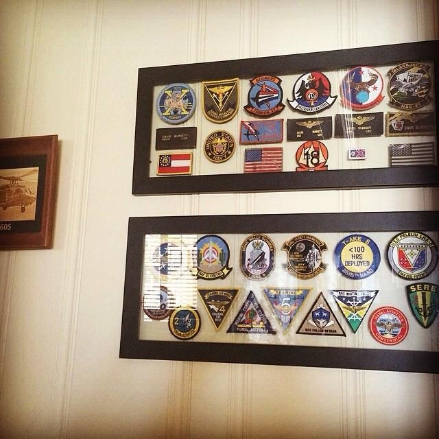 Patch display | Craft Ideas | Military memorabilia, Military shadow