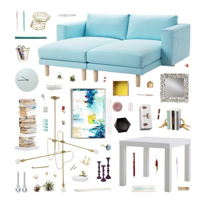 """""""Lizzie"""" by belenloperfido ❤ liked on Polyvore featuring interior, interiors, interior design, home, home decor, interior decorating, Workstead, Opinion Ciatti, Cyan Design and Rosanna"""