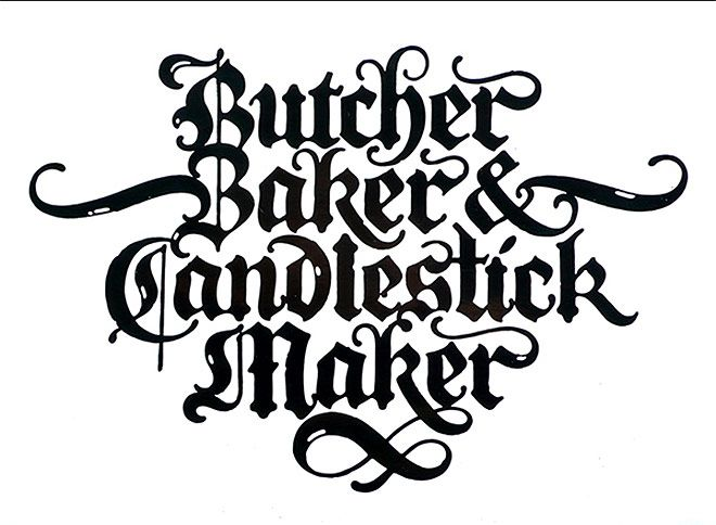 45 Beautiful Examples Of Blackletter And Gothic