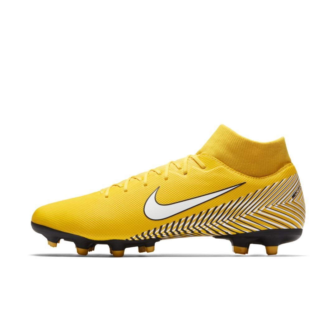 fedf5115d2e7 Nike Mercurial Superfly VI Academy Neymar Multi-Ground Soccer Cleat Size  10.5 (Amarillo)
