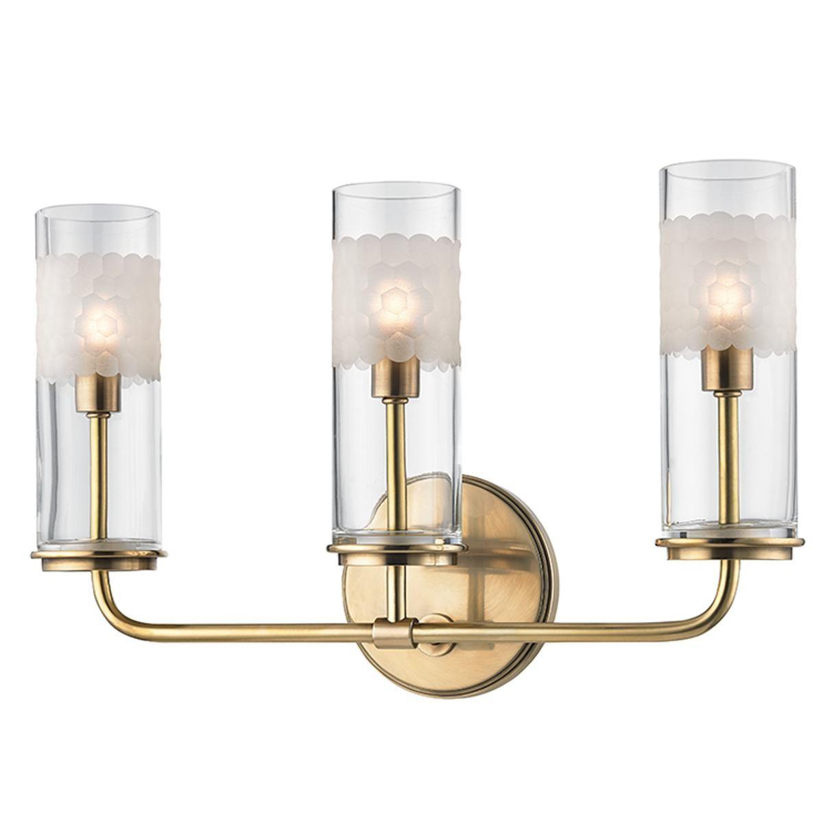 Brass Bathroom Lighting Hudson Valley Unowinc Gymax Orlando Vintage Wire Cage Retro Sconce Wall Light