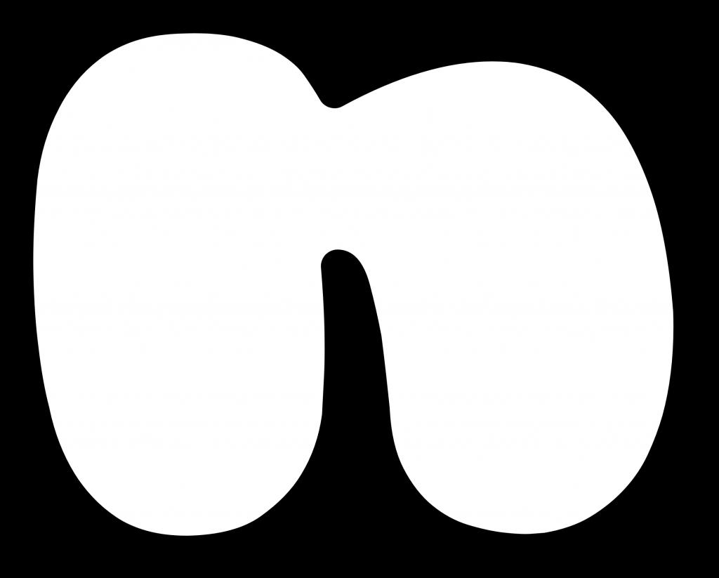 Lowercase Bubble Letter n (с изображениями)
