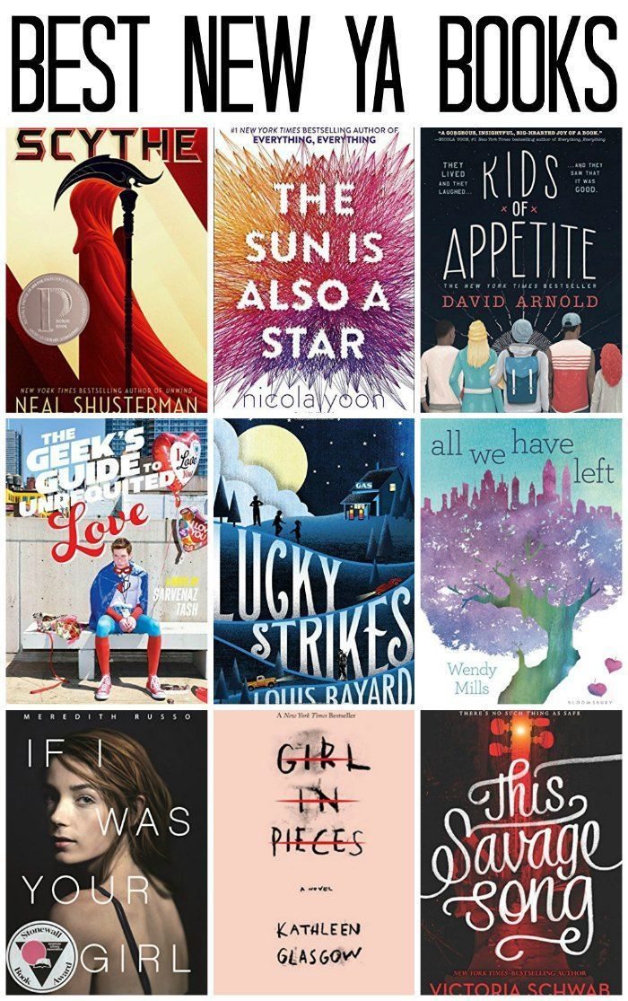 Best New Young Adult Books | Books for Teens/YA | Maura Dorn