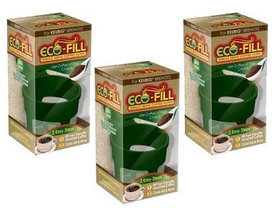 ecofill coffee reusable filter for single serve kcup coffee brewers 3