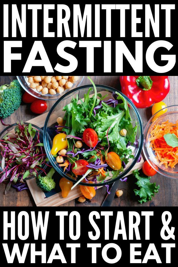 Weight Loss that Works: 7-Day Intermittent Fasting Meal ...