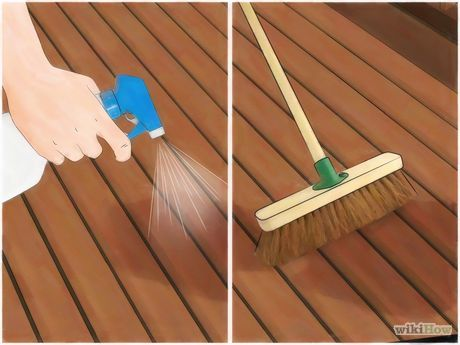 Clean A Trex Deck Porch Steps Cleaning