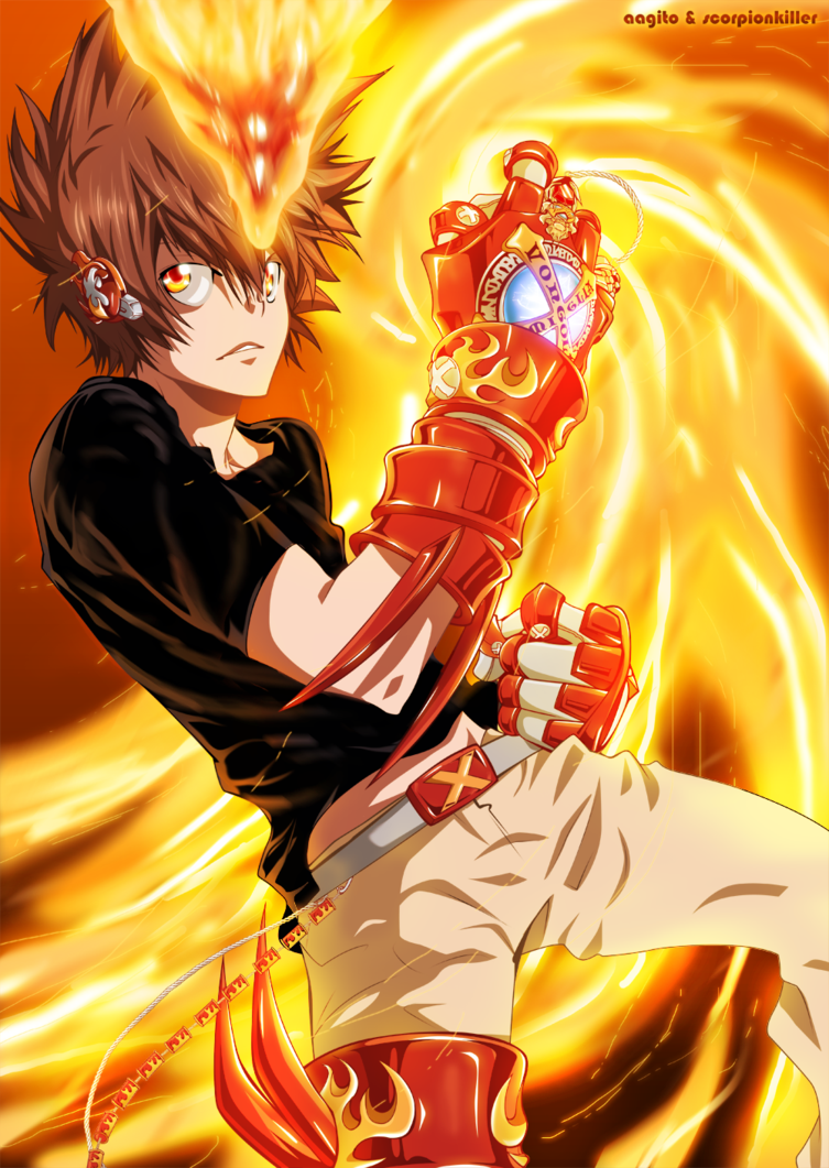Damm Tsuna we want to see your face Description from ar