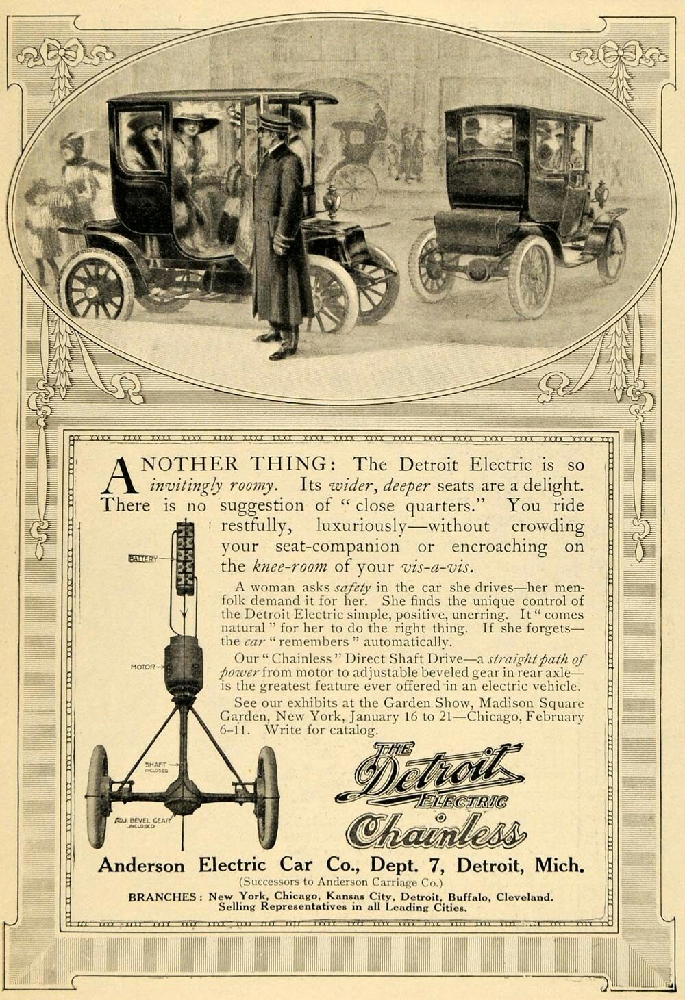 hight resolution of anderson electric car co
