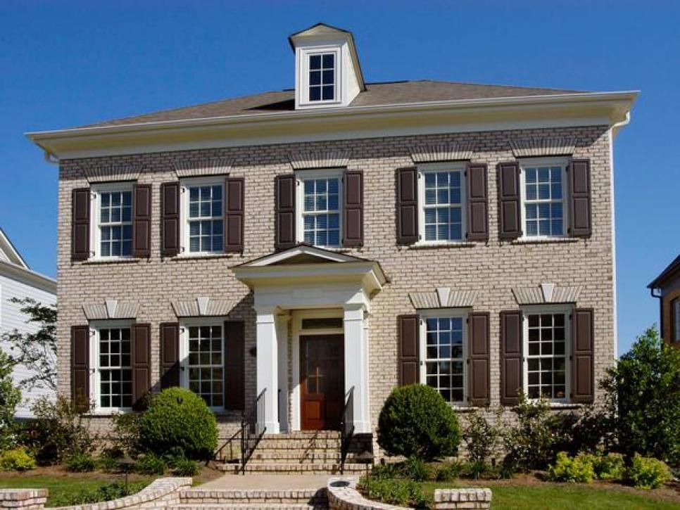 26 Popular Architectural Home Styles House Styles Georgian Style Homes Exterior Siding Options