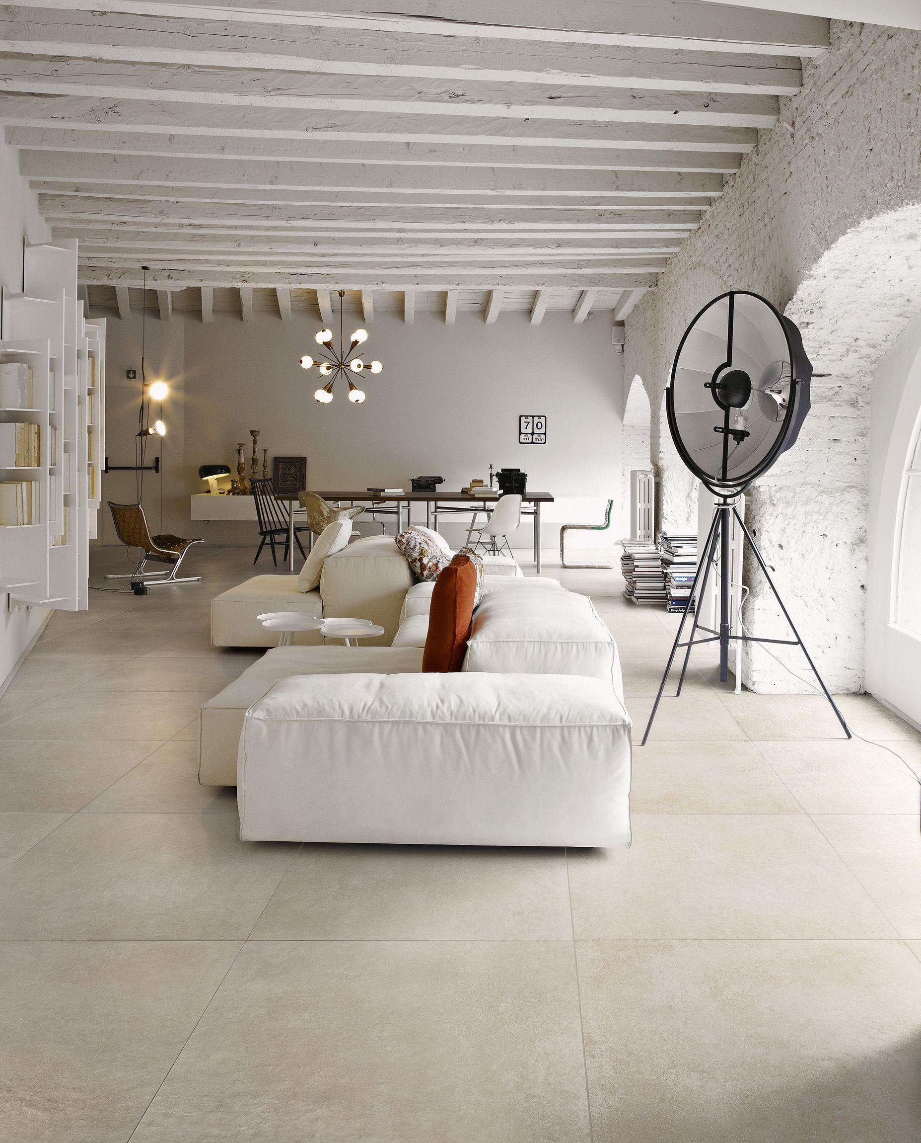 Bodenbelag Beton wand und bodenbelag aus feinsteinzeug mit beton effekt memories by