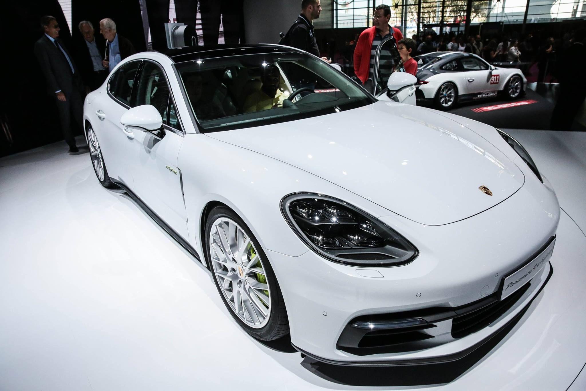 Porsche Panamera Hybrid #MondialAuto