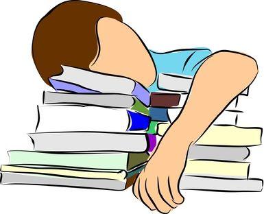 Sleeping While Doing Homework Clip - image 8